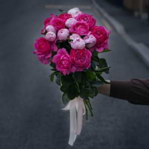 пионовидыне розы и пионы