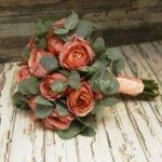 Букет невесты из пионовидных роз Романтик Антик