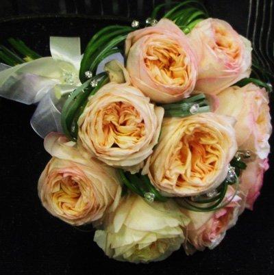 Букет невесты из роз Анджи Романтика