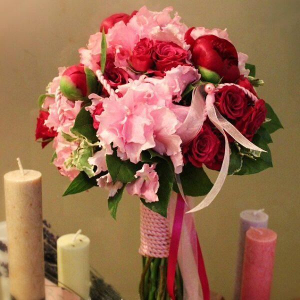 Для пионовой свадьбы