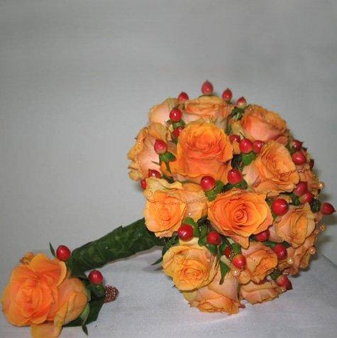 Оранжевый и яркий