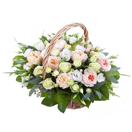 Композиция из роз Анджи Романтика