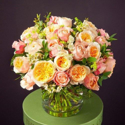 Букет из роз Джулиет и Эдит