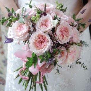 Букет невесты с розами Кейра