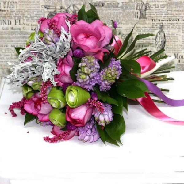 Розы в Пьяже и гиацинты