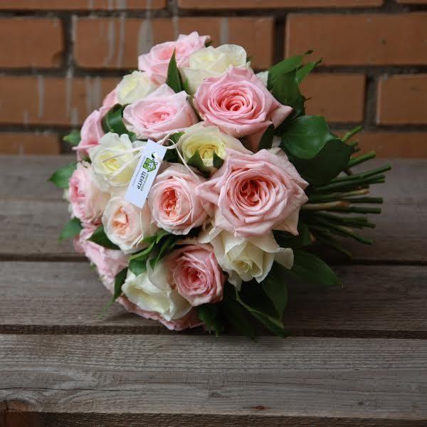 Букет из роз Норма Джин и Пинк О'Хара