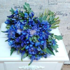 Самый синий букет