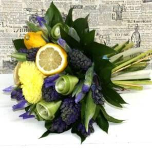 Гиацинты с лимонами
