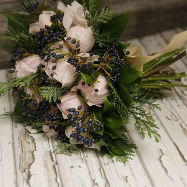Букет пионовидных роз Пеони Пинк